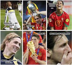 Fernando Torres Trophies