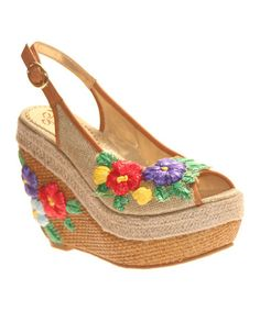 Another great find on #zulily! Natural Petal Pusher Wedge #zulilyfinds