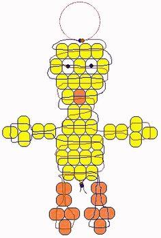 sandylandya.Tweety beadie pattern