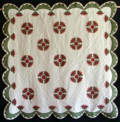 Rosa Sharon quilt by Deborah Poole