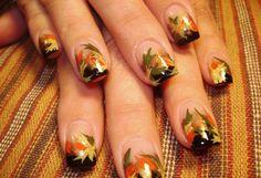 Wild fall nails