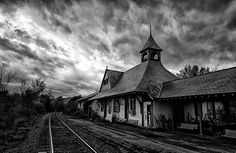 10 Tips on How to Create Better Black & White Images | BH Insights better black, train hous, midnight train, black white, white imag, angl, trains