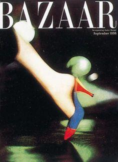 :: September 1956 Harper's Bazaar, Art Director Alexey Brodovitch, Photograph Richard Avedon