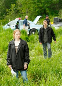 The Killing.  Love this program.  One of the few programs where you have no idea who did it!!!