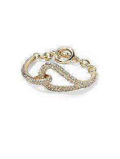 Sabine Pave Status Link Bracelet | Piperlime