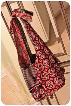 sew, hobo bag tutorial, craft, bolso revers, revers hobo, bag tutorials, diy, amandita design, hobo bags