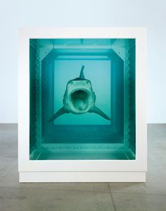The Physical Impossibility of Death in the Mind of Someone Living - Damien Hirst
