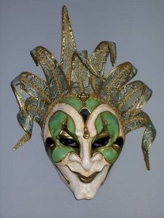 Commedia Dell Arte mask