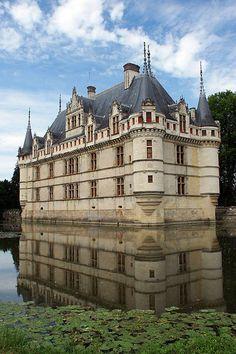 Azay le Rideau, Loire valley, France