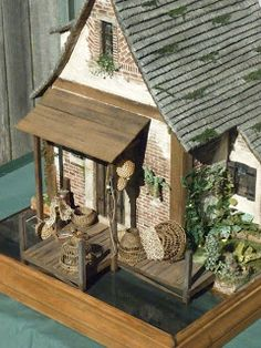Basketcase Miniatures, Fisherman Cottage
