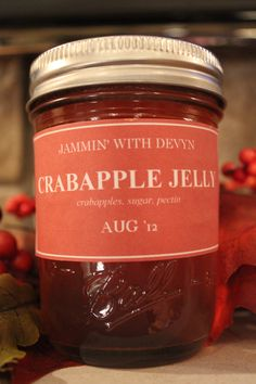 Old Fashioned Homemade Crabapple Jelly. $4.00, via Etsy.