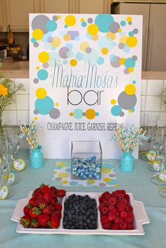 """Photo 9 of 22: Confetti-Ready to Pop Baby Shower / Baby Shower/Sip & See """"Confetti-Ready to Pop Baby Shower""""   Catch My Party"""