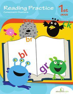 Workbooks: Reading Practice: Consonant Clusters