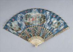 Fan, 18th century fold fan, веера, abanico, hand fans, eventail, blue fan, éventail, antiqu, blues