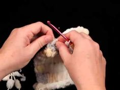 Great video tutorial on how to crochet with PomPom yarn