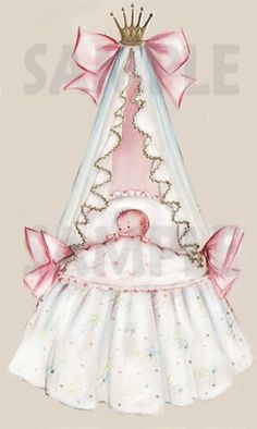Vintage Baby Bassinet