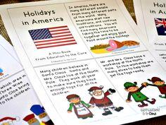 FREE Holidays in America Mini-Book!