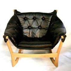 Tufted Suspension Chair Black now featured on Fab.