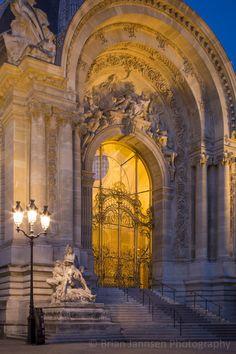 Ornate entry to Petite Palais, Paris France. © Brian Jannsen Photography