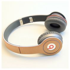 Amazing wood skins for your Beats by Dr. Dre headphones!