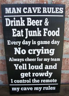 Man cave must have!