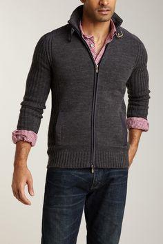 Dex  Zip Sweater Blazer