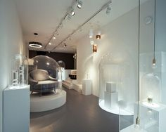 Lee Broom's Electra House showroom in London's Shoreditch neighborhood