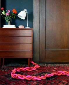 diy project: sculptural braided extension cords