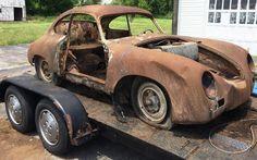 Pre-A Project: 1955 Porsche 356 Continental - http://barnfinds.com/pre-a-project-1955-porsche-356-continental/