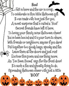 Have You Been Boo'd?