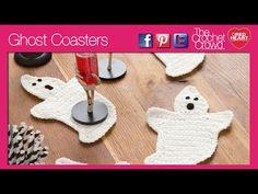 ▶ Crochet Ghost Coasters - YouTube