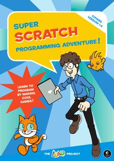 computer programming, comic books, book covers, classroom libraries, video game, book reviews, activity books, books for kids, scratch program