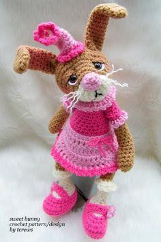 Sweet Bunny, a crochet PDF pattern