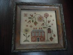 A Red Cottage by Plum Street Samplers