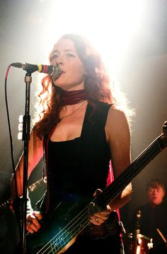 Women who sing and play instruments.  Hot.
