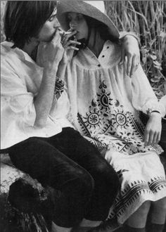 Talitha and Paul Getty