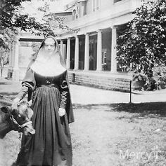 #TBT to 1905 when #SistersOfMercy opened a 30-bed infirmary in what was once a school in Fort Smith, Arkansas. Many of the Sisters had nursed wounded soldiers during the Civil War.