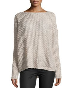 Vince Cable Knit Almondine Sweater