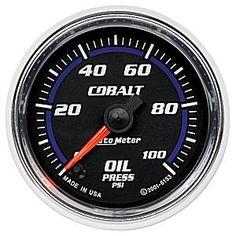 Auto Meter Cobalt Oil Pressure