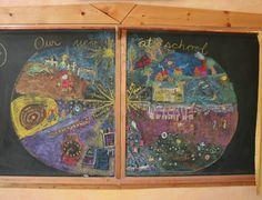 Chalkboard design