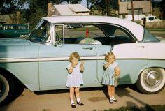 dreams, vintage cars, chevrolet, 1957 vintag, white walls