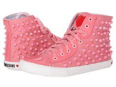 LOVE Moschino Studded High Top Sneaker. OMG....