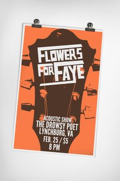Flowers For Faye Gig...