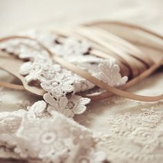 Delicate laces // Inspiration by Eric #Bompard