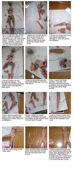 How to do a BJD    #tutorial #doll #bjd #craft #howto