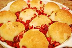 cranberry pecan sticky rolls