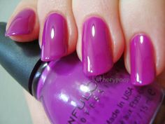 Sinful Colors Dream On (new version), with topcoat *click for more*