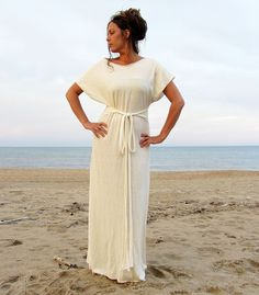 The Long Kimono Dress (hemp/organic cotton)