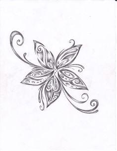 tattoo flower