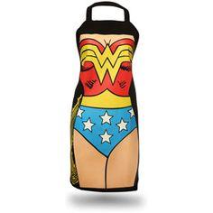 Wonder Woman apron!